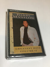 Barry Manilow--Greatest Hits Volume II--1989 Cassette New Sealed