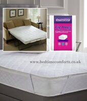 SOFA BED / PULL OUT BED Slumberdown Big Hugs MATTRESS PROTECTOR (125cm x 190cm)