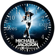 Michael Jackson Black Frame Wall Clock Nice For Decor or Gifts Z09