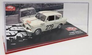 "1/43 IXO FORD ANGLIA 1963 ""Rallye Monte-Carlo"""