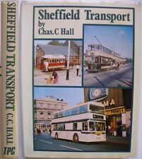 SHEFFIELD TRANSPORT TRAM BUS VEHICLES HISTORY 444 ILLUSTRATIONS TRAMS BUSES