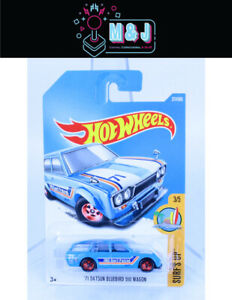 Hot Wheels '71 Datsun Bluebird 510 Wagon 277/365 3/5  Sealed  (Aussie Seller)