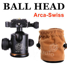 Arca-Swiss Ball Head For Camera DSLR Tripod Monopod BENRO Manfrotto Nikon Canon