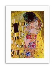 Klimt The Kiss Photo Old Master Toile Art Prints