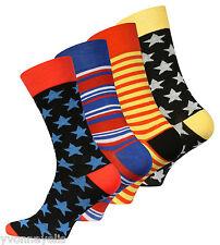 "4 oder 8 Paar Herren Trend-Socken ""Stars and Stripes"" Original Vincent Creation®"
