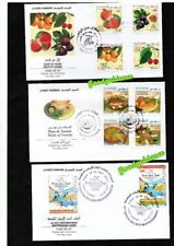 2009- Tunisia- Tunisie- Full Complete year- Année complète - 12 FDC ( 4 scans)