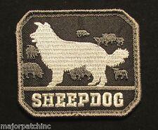 SHEEPDOG US USA ARMY K9 MORALE BADGE INFIDEL SWAT VELCRO® BRAND FASTENER PATCH
