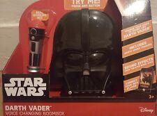 NEU Star Wars Darth Vader Voice wechselnde Ghettoblaster Musik spielen Kinder Geschenk MP3 Player