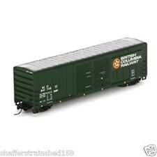 Athearn # 24251 50' Fmc Double Door Box British Columbia Railway # 841735 N Mib