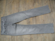 SEVEN FOR ALL MANKIND coole Jeans grau straight leg Gr.25 TOP 418