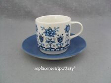 Johnson Brothers Tudor Blue cup and saucer