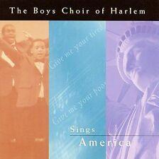 The Boys Choir of Harlem Sings America by The Boys Choir of Harlem (CD,