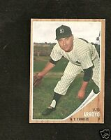 1962 Topps # 455 Luis Arroyo Ex-Mt