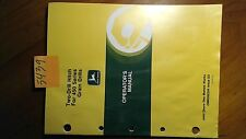John Deere Two-Drill Hitch for 450 Series Grain Drills Owner's Operator's Manual