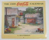 Coca-Cola 1999 Jim Harrison Calendar - NIP  FREE SHIPPING