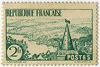 "FRANCE N°301 ""TAILLE DOUCE, 2 F VERT"" NEUF xxTTB"