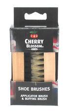 CHERRY Blossom Puro A PENNELLO DA BARBA Scarpa Morbido Stivale TWIN polacca Brush Set anti graffio