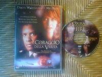 Dvd Thriller IL CORAGGIO DELLA VERITA' * M.Ryan, D. Washington