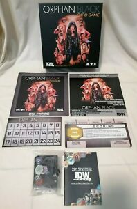 BOARD GAME - *Complete* Orphan Black TV Show IDW Games Board Game *Rare*