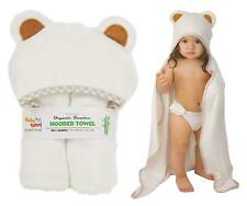 Hooded Baby Towel and Washcloth Set by Baby Totoy, Large, Bamboo, Unisex