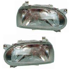 PHARES FEUX AVANT OPTIQUE GAUCHE + DROIT VW GOLF 3 01/1993 à 04/1999