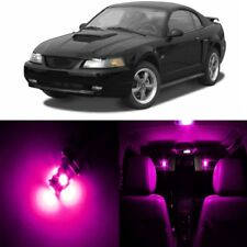 12 x Pink LED Interior Light Package For 1994 - 2004 Ford Mustang + PRY TOOL