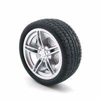 4pcs 48*19*3mm Rubber RC Car Tire Toy Wheels Model Robotic DIY Trucks 1:10 Scale