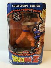 "2001 Dragon Ball Z Goku Collector's Edition Action Figure 9""  uncut"