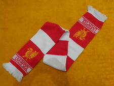 LIVERPOOL FOOTBALL CLUB SCARF ~ SOCCER MENS WOMENS UNISEX ~ RED & WHITE ~ 53""