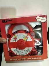 VINTAGE NOVELTY ELFTONE SING-A-LONG WITH MIC RADIO BAND AM(MW)1970S -1980s