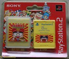 MOMOTAROU DENTETSU 8 MB tarjeta de memoria de PS2 (2004) totalmente nuevo y sellado de fábrica de Sony