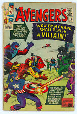 JERRY WEIST ESTATE: THE AVENGERS #15 (Marvel 1965) NO RES