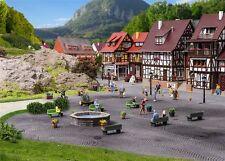 Vollmer 48270 Steinkunst-set Brunnen und Felsen H0