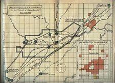 1922 Birmingham Alabama pamphlet + FOLDING MAP RED IRON ORE LANDS Robert Terrell