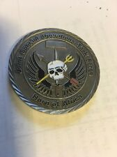 Joint Special Operations Command & Control Element Horn of Africa Challenge Coin