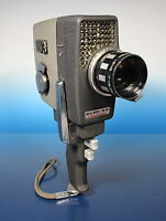 Elmo 8-S Photographica Filmkamera movie camera appareil F:1.8/10-30mm - (92801)