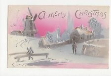 Christmas Embossed Collectable Greeting Postcards