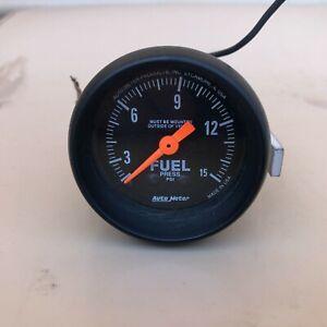 Autometer Fuel Pressure Guage