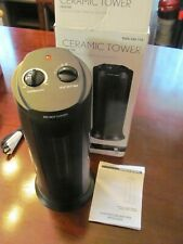 1500-Watt Electric Ceramic Tower OSC Space Heater In Box Instructions