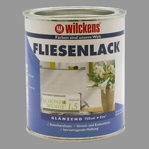 3 Dosen Fliesenlack Fliesenfarbe WILCKENS 24 qm mit Lackierset (8,88€/1l)
