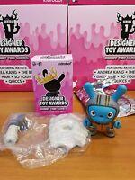 Kidrobot Designer Toy Awards Dunny Series The Bots 03 Worldwide Free S/H