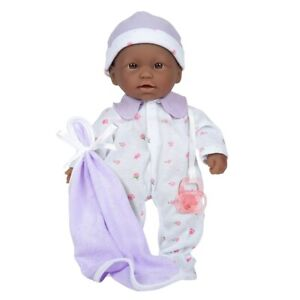 """Soft & Sweet 11"""" African American Baby Doll Designed by Berenguer"""