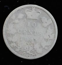CANADIAN SILVER 1885 DIME TRENDING $100+