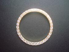 Golden Bezel Prong Set Bigger Cz Rhinestones For 36Mm Rolex Datejust Or Day-Date