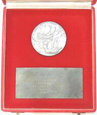 1978 ships COLUMBUS DE LA COSA PINZON: DISCOVERY OF AMERICA silvered-bronze 80mm