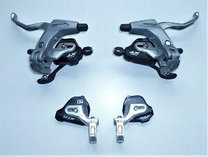Schalt-& Bremshebel aus der Shimano Gruppe, Modell: XTR ST-M980 & Deore BL-T610