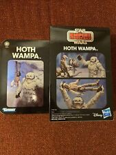 New and Sealed Star Wars Black Series Hoth Wampa Hasbro SDCC Exclusive. Rare.