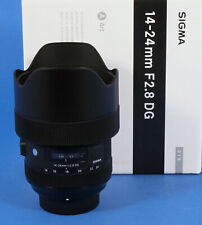 Sigma Art 14-24 /2,8 für Nikon Vitrinenmodell