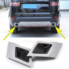 Tail Exhaust Cover Trim For Land Rover Discovery 5 LR5 L462 HSE  2017 2018 ABS