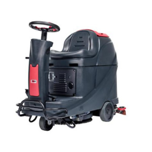 """Viper AS530R 21"""" Disc Micro Ride-on Scrubber Dryer"""